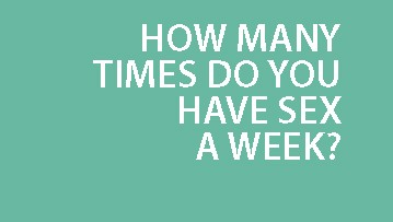 Average times of sex a week